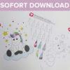 Sofort-Download Pinn das Einhorn Spiel klein