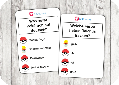 Pokémon Party Zum Comeback Des Klassikers Balloonasblog