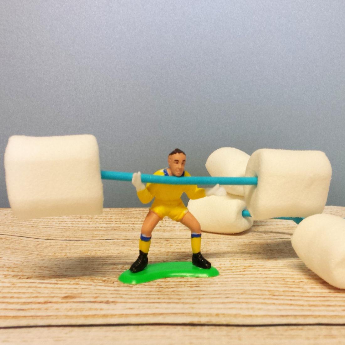 olympia marshmallow gewichte