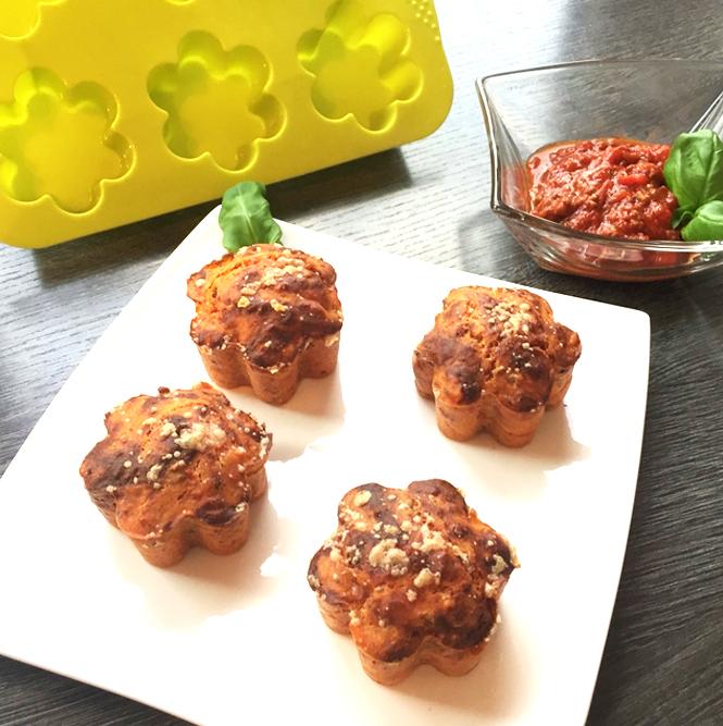 Herzhafte Muffins Bolognese Muffins