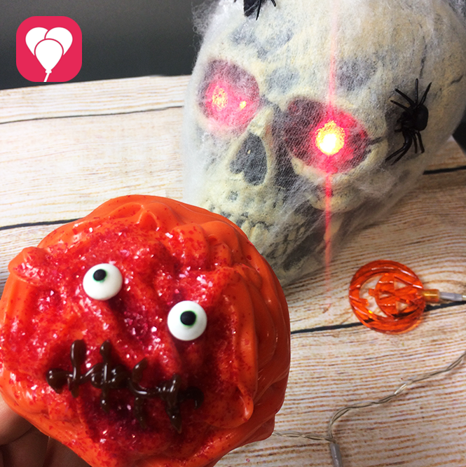 Halloween Rezepte Monster Cupcakes