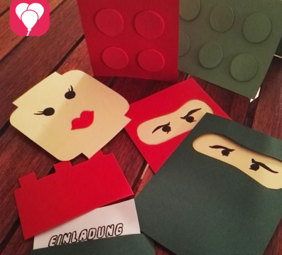 Lego Einladungen
