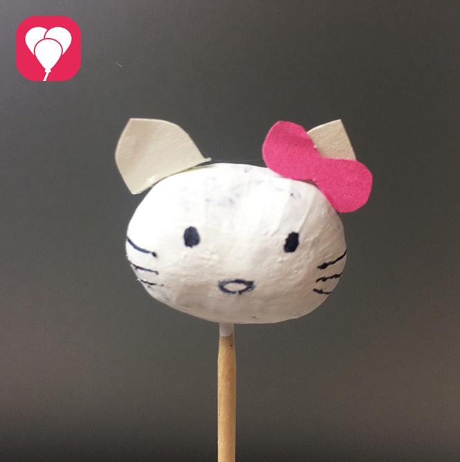 Kastanien Basteln Hello Kitty