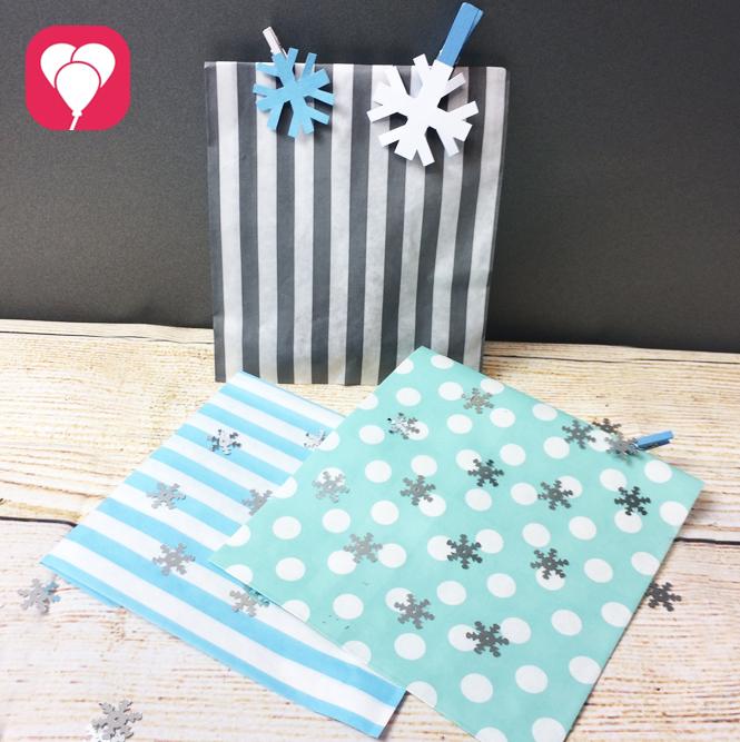 Winterliche Geschenkverpackungen zu Frozen