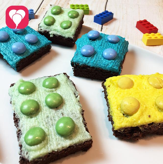 Lego Kuchen mit Zuckerguss