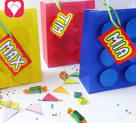 Lego Geschenktüten basteln