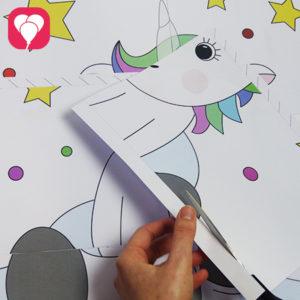 magischer kindergeburtstag pinn das einhorn spiel balloonasblog. Black Bedroom Furniture Sets. Home Design Ideas