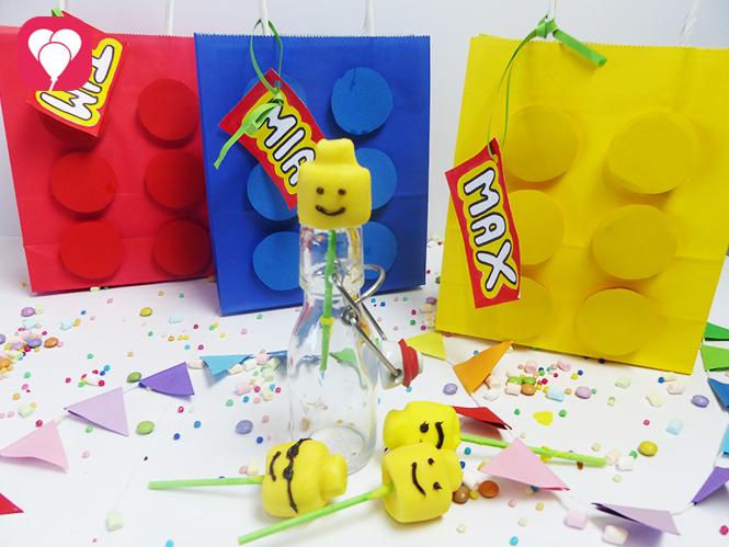 Lego Marshmallow Köpfe Lego Geburtstag