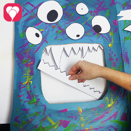 Monster Spiele Zaehne ankleben