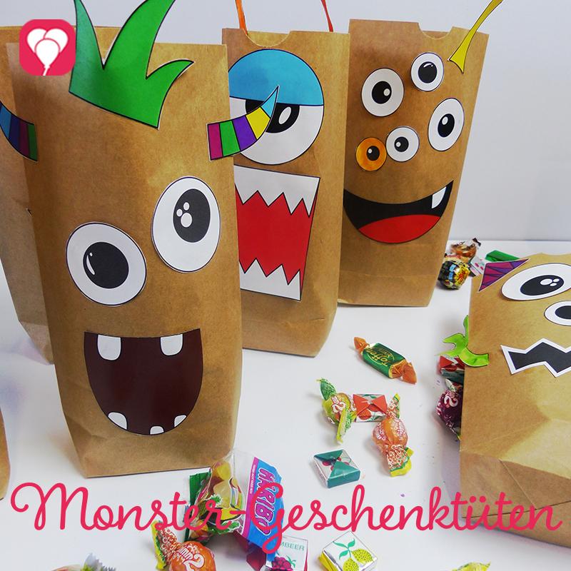 Monster Geschenktueten