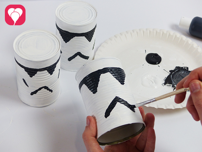 Star Wars Dosenwerfen Storm Trooper Dosen
