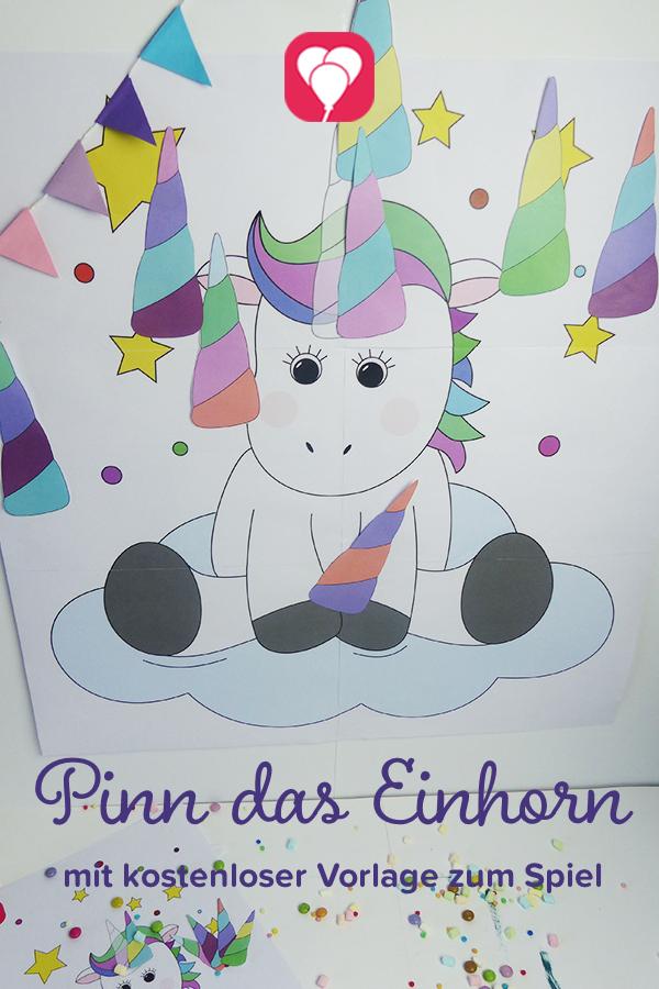 Märchenhafte Einhorn Einladung Zum Ausdrucken Balloonas