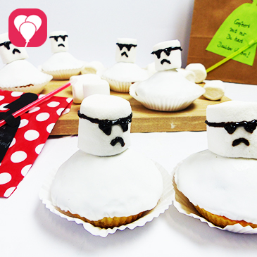 Star Wars Muffins backen