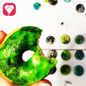 marmorierte Star Wars Donuts selber machen
