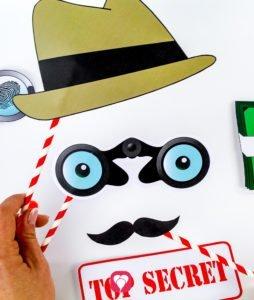 Spaß haben mit dem Detektiv Photo Booth