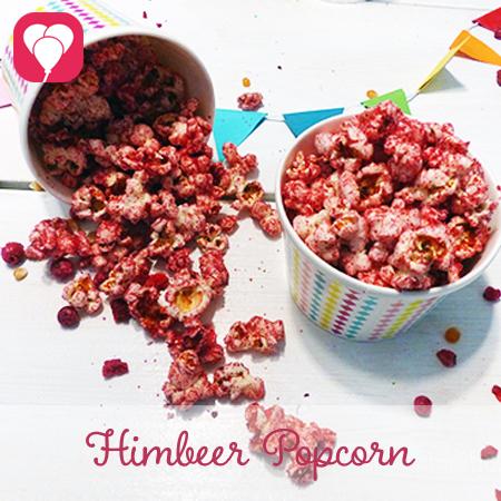 Himbeer Popcorn