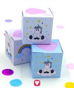 Einhorn Geschenkbox
