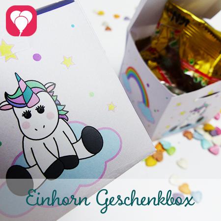 Einhorn Geschenkbox Preview