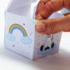 Einhorn Geschenkbox - Schritt 3