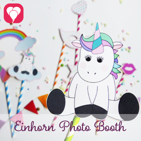 Einhorn Photo Booth