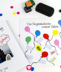 balloonas Geburtstagsbuch - Erinnerungen kreativ festhalten