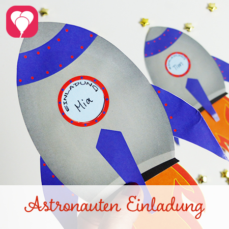 Preview Astronauten Einladung