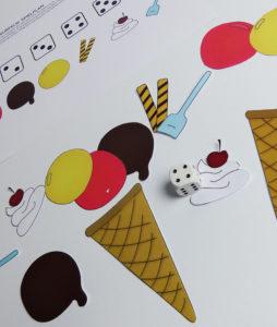 Eiscreme Würfel Spiel - Schritt 2
