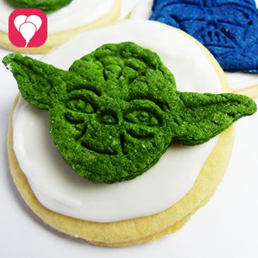 Star Wars Kekse in nur zwei Schritten