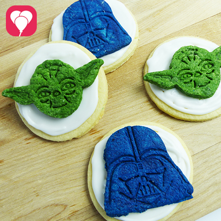 Star Wars Kekse selber backen