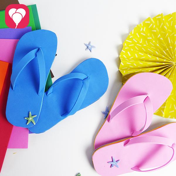 DIY Flip Flops basteln