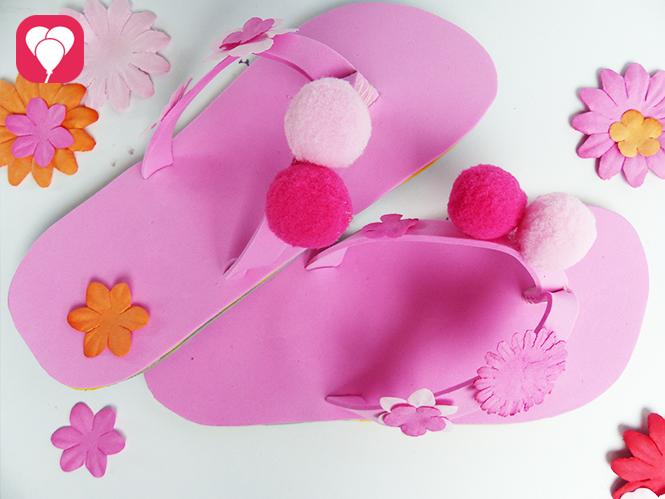 DIY Flip Flops dekorieren