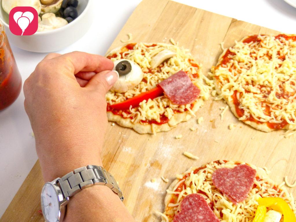 Emoji Pizza backen - balloonas