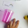Einhorn Flaschenetiketten und Becherschilder - Schritt 4