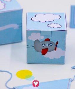 Flieger Geschenkbox - balloonas