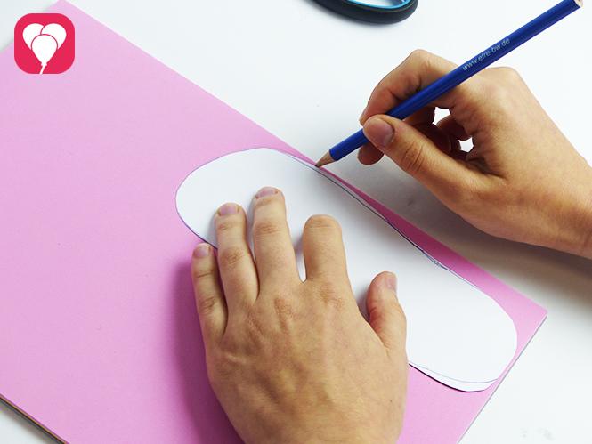 Flip Flops selber machen - Fussvorlage erstellen