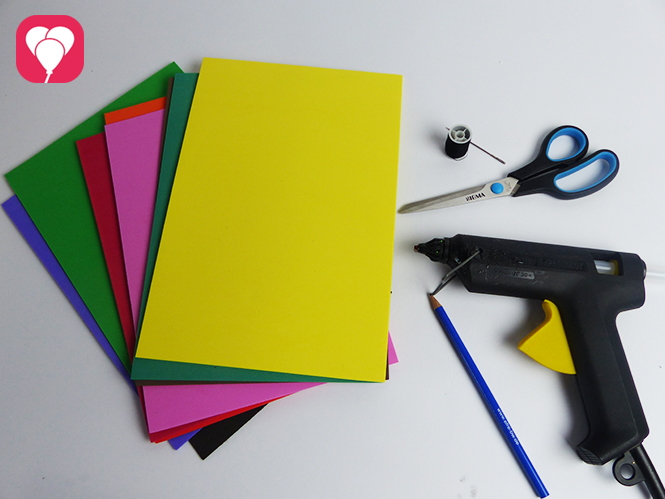 Flip Flops selber machen - Material