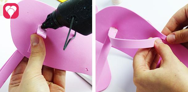 Flip Flops selber machen - Riemen befestigen