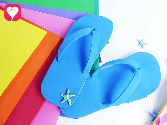 diy anleitung flip flops selber machen balloonas. Black Bedroom Furniture Sets. Home Design Ideas