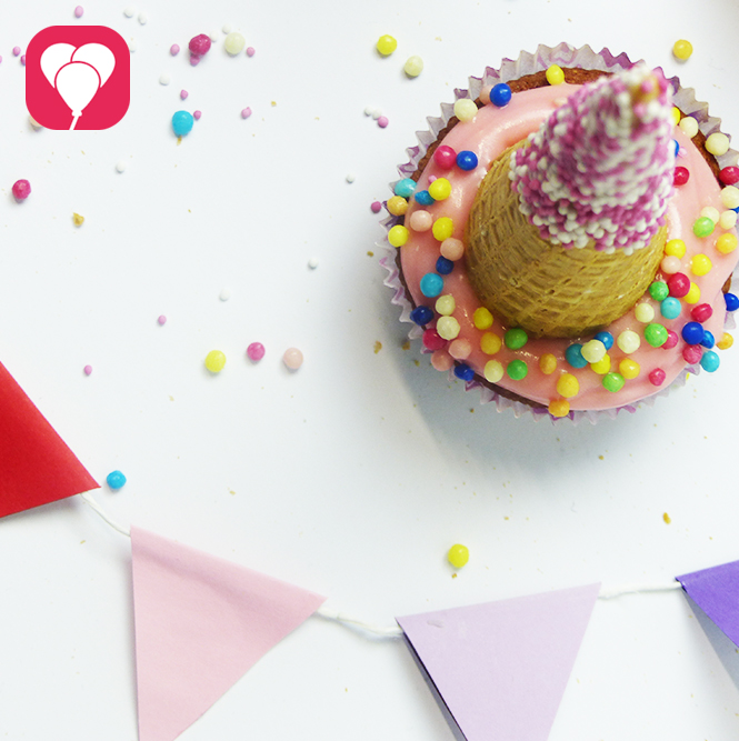 Zuckersüße Einhorn Cupcakes