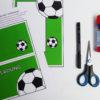 Fußball Einladung mit Torwand - Zusatzmaterial