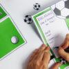 Fußball Einladung mit Torwand - Schritt 5