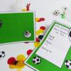 Fußball Einladung - Innenseite