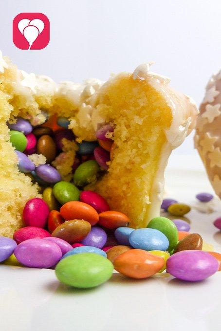 Pinata Muffins - balloonas