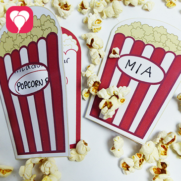 Popcorn Einladung