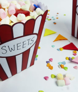 Candy Bar fürs Heim Kino