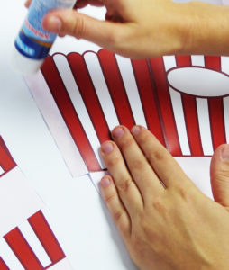 Popcorn Tüte - Schritt 3