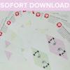 Einhorn Wimpelkette als Sofort-Download