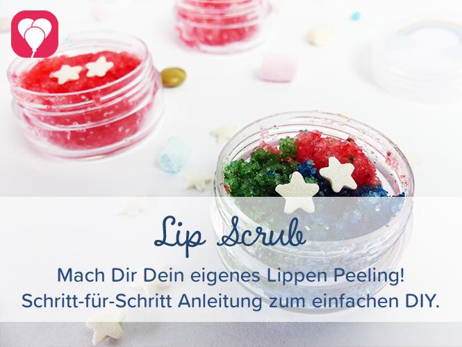 Regenbogen Lipscrub