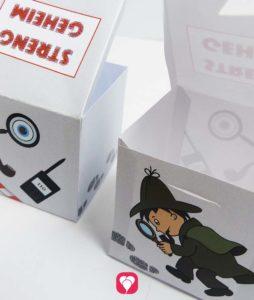 Detektiv Geschenkbox