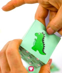 DinoGeschenkbox zum Verschließen